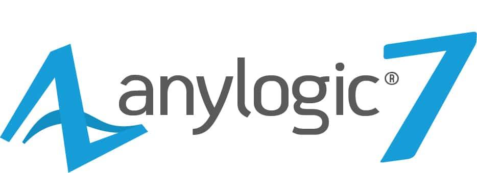 Logo Anylogic 7 - SimPlan AG