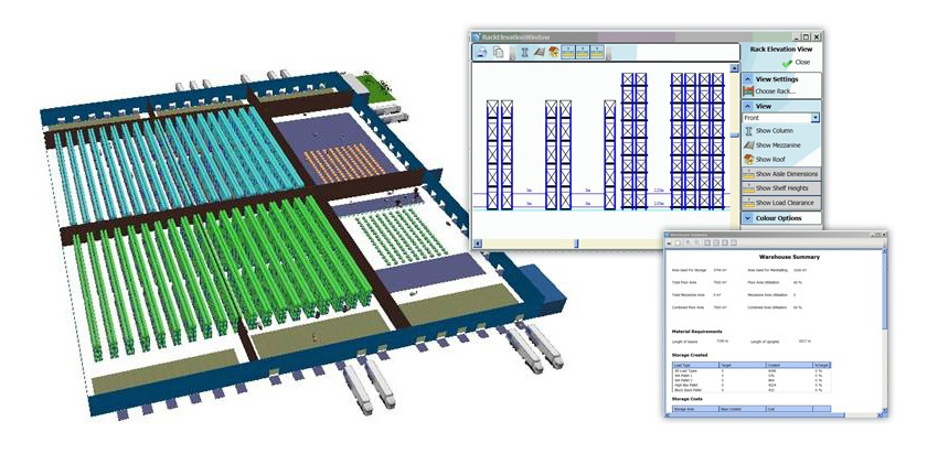 CLASS Warehouse Layout and Simulation - SimPlan AG