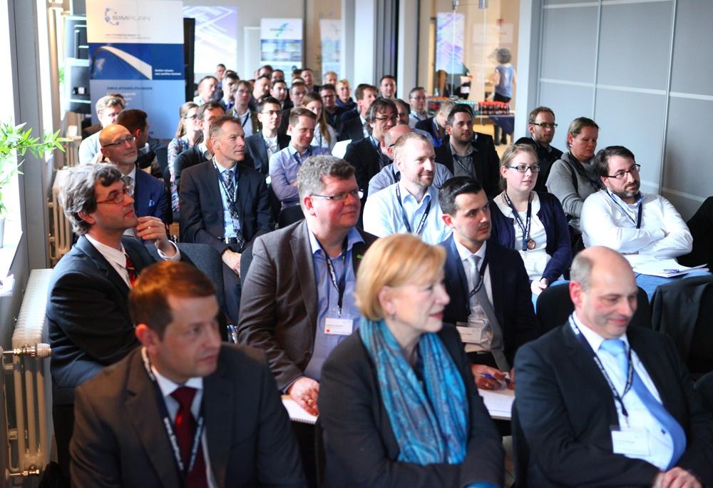 Zuschauer beim Vortrag - SimPlan AG