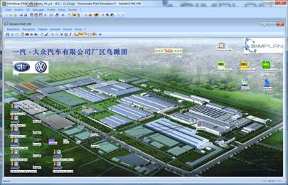 Lagersimulation China - SimPlan AG