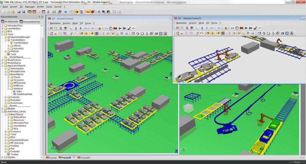Plant Simulation 3D - SimPlan AG