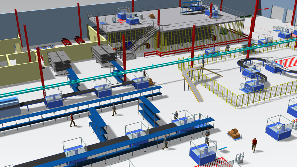 Simulationssoftware Plant Simulation - SimPlan AG