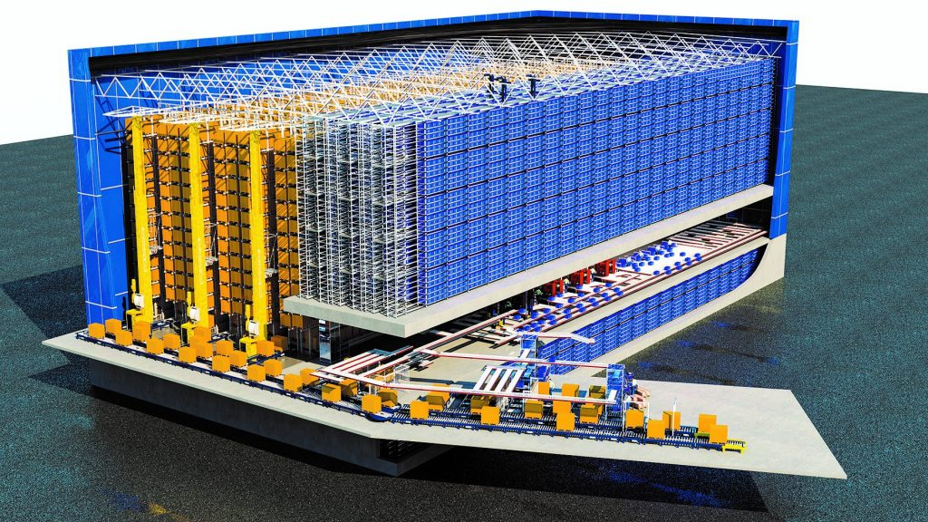 Distributionszentrum Modell - SimPlan AG
