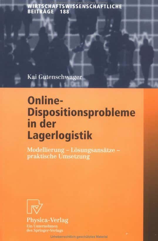 Buchempfehlung: Online-Dispositionsprobleme in der Lagerlogistik - SimPlan AG
