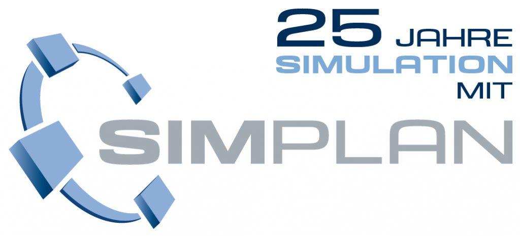 SimPlan Logo Jubiläum - SimPlan AG