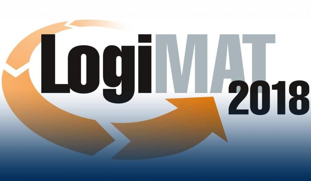 Logo LogiMAT 2018 - SimPlan AG