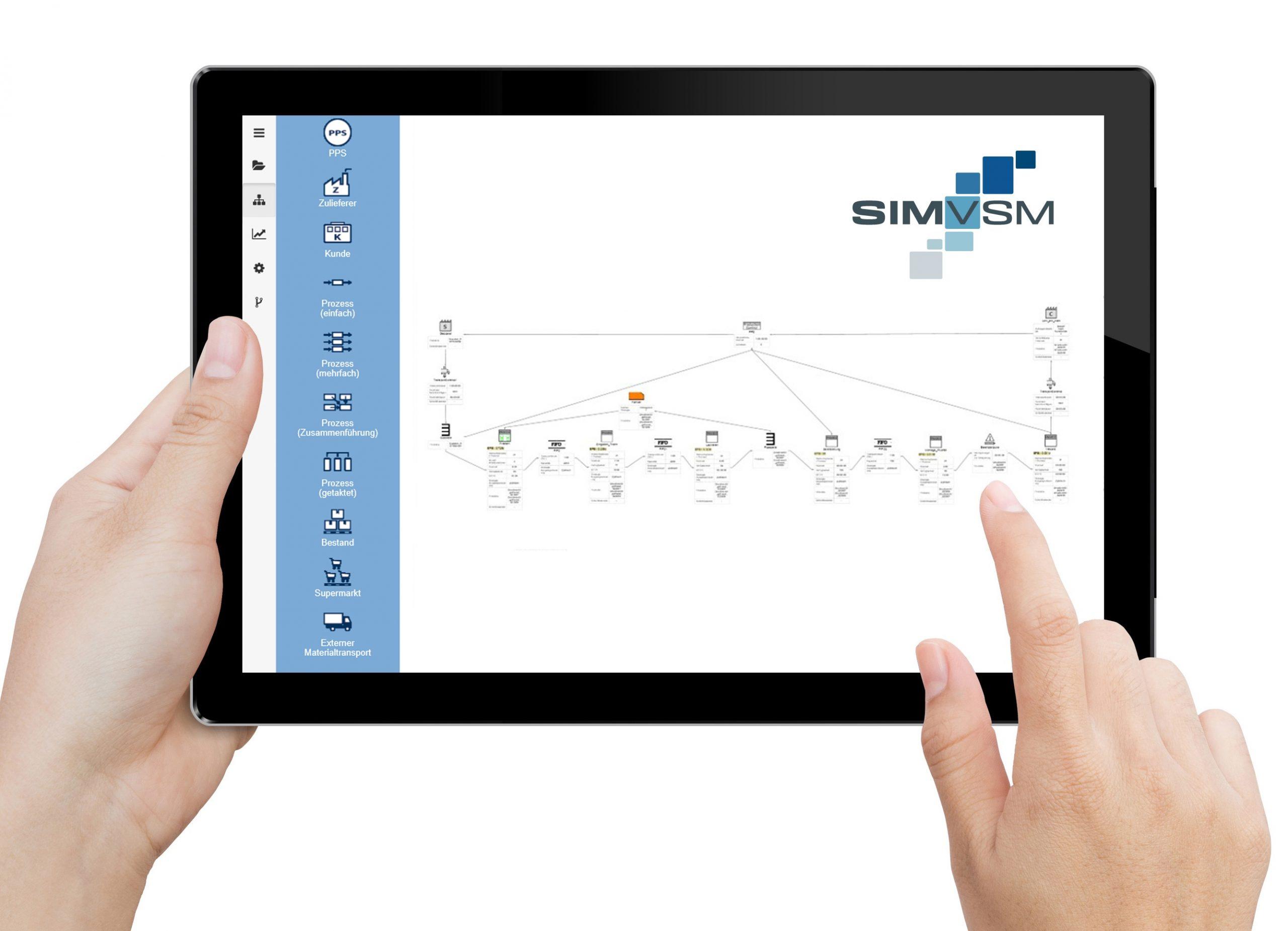 SimVSM Tablet