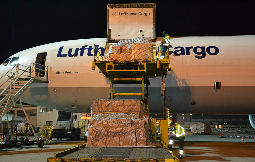 Foto Lufthansa Cargo Beladung