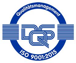 DQS Qualitätssiegel ISO 9001:2015