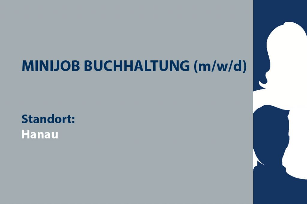 Stellenausschreibung Minijob Buchhaltung in Hanau, SimPlan AG