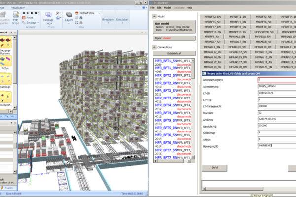 Emulate3D für SAP EWM/MFS