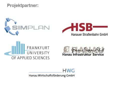 Logos der Projektpartner - SimPlan AG