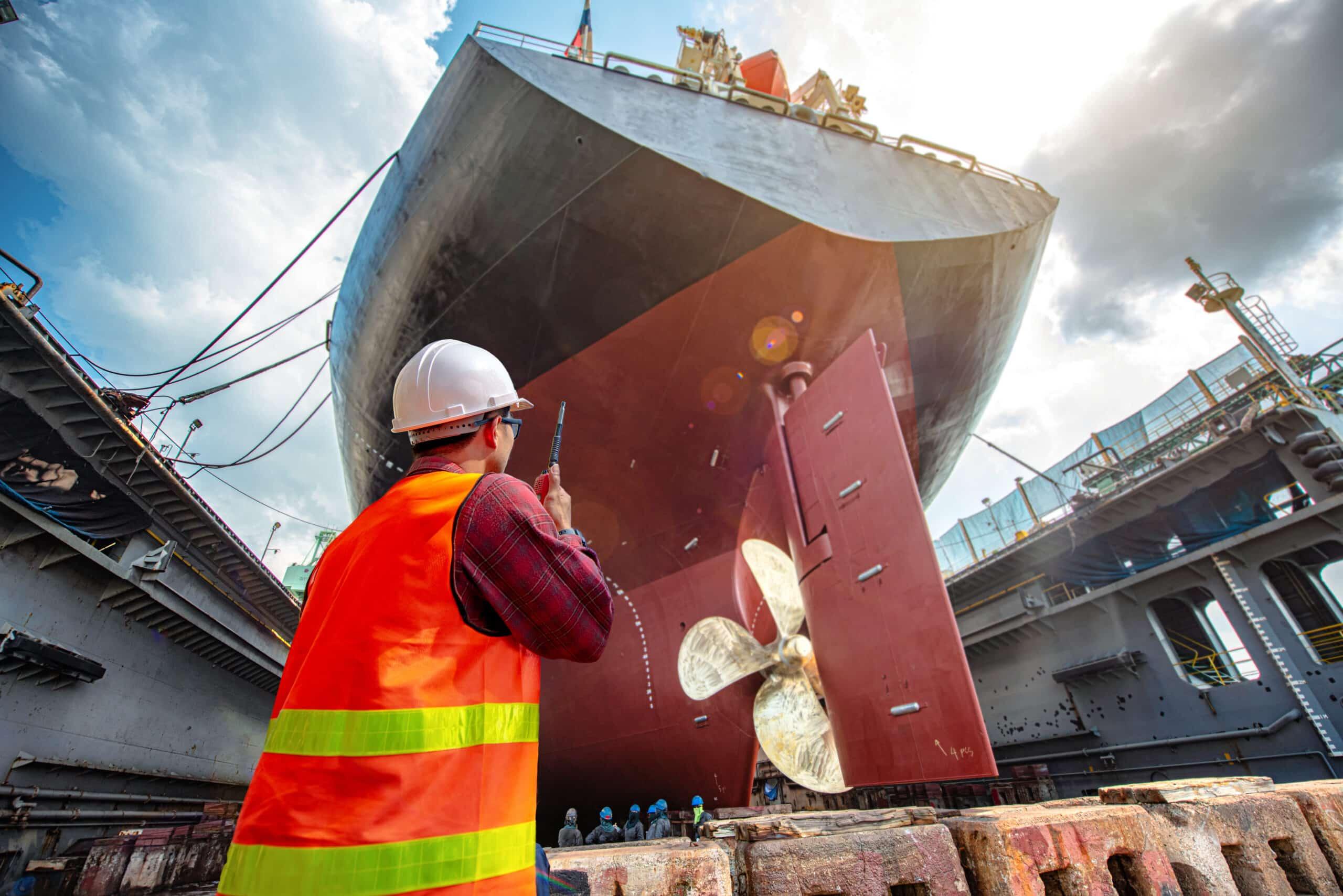 Bausteinkasten Schiffbau / shipbuilding