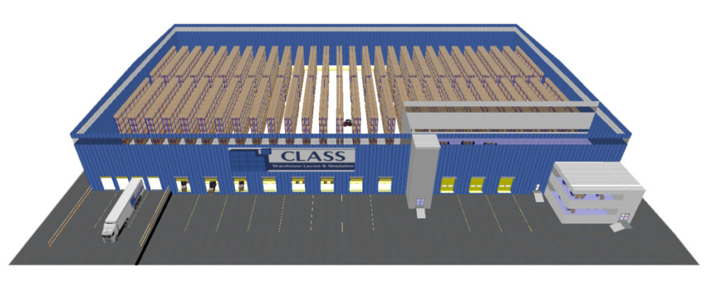 Class simplan ag for Warehouse planning software